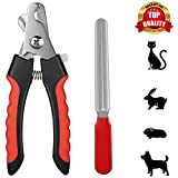 PetVogue Dog Nail Cutter, Pet Nail Clipper,Claw & Nails Clippers Grinder Trimmer