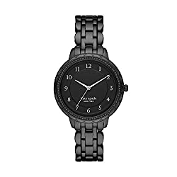 Black Morningside Stainless Steel Quartz Bracelet Watch