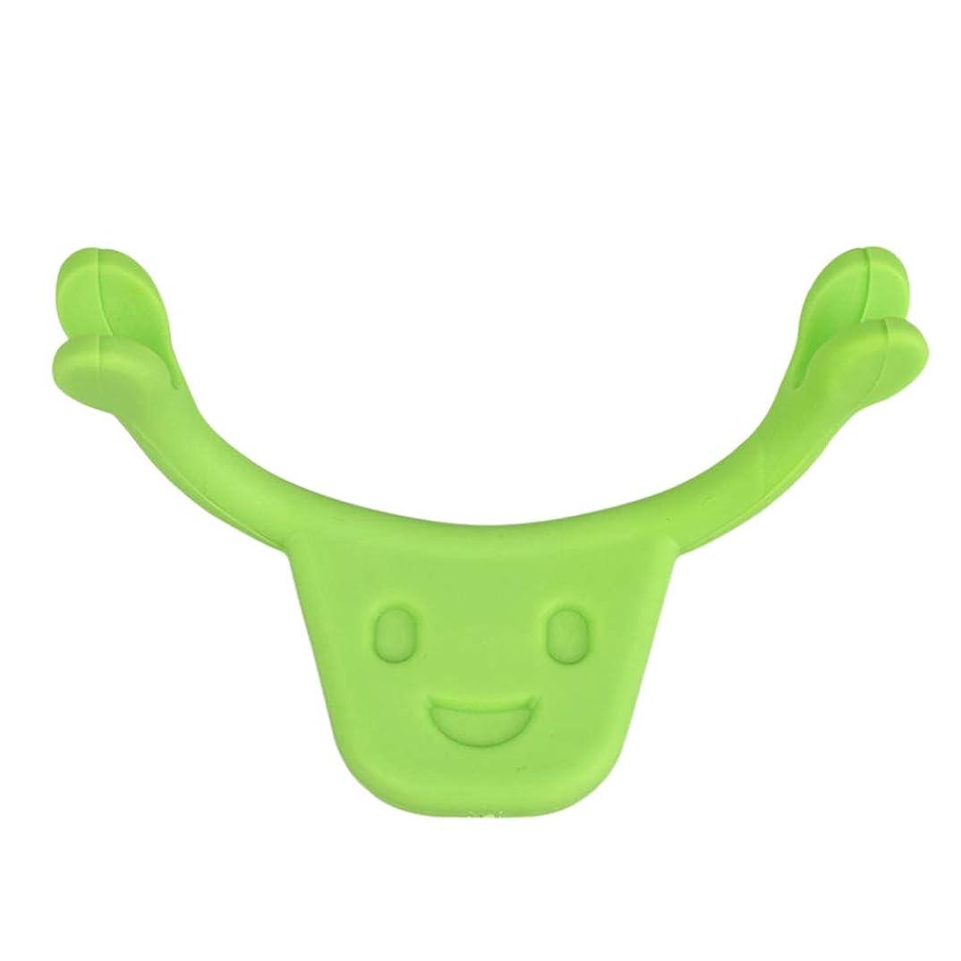 高尚な申込み真空F Fityle 表情筋 トレーニング 小顔 ストレッチ 口角を上げるグッズ 美顔 顔痩せ 二重 あご 消す 全2色 - 緑