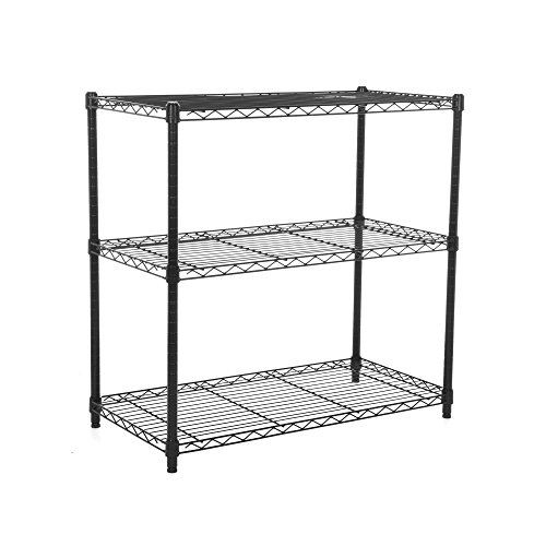 Racking Solutions - Mini estanteria de bronce / gabinete de almacenamiento de acero, cargas pesadas, capacidad de carga total 480kg (3 niveles 907 mm Al x 907 mm An x 457 mm Pr) + Envío gratis