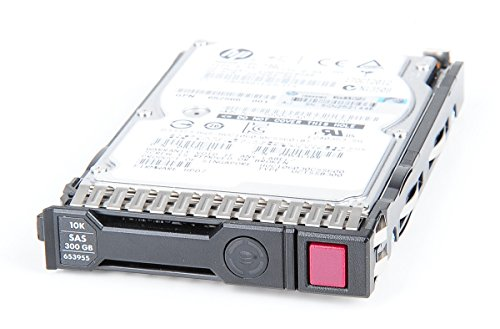 HP 300 GB 6G 10K SAS 2.5' Hot Swap Festplatte / Hard Disk mit Smart Carrier - 653955-001 / 652564-B21