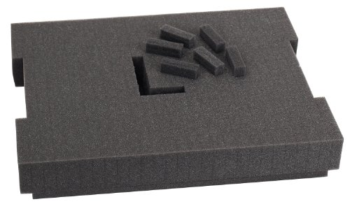 Bosch Foam-101 Pre-Cut Foam Insert 102 for use with L-Boxx1, Part of Click and Go Mobile Transport System by BOSCH