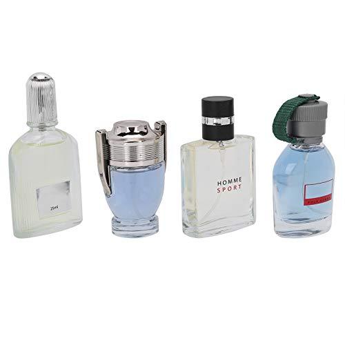 4pcs 25ml Men Perfume, Eau de Parfum for him, Long lasting Natural...