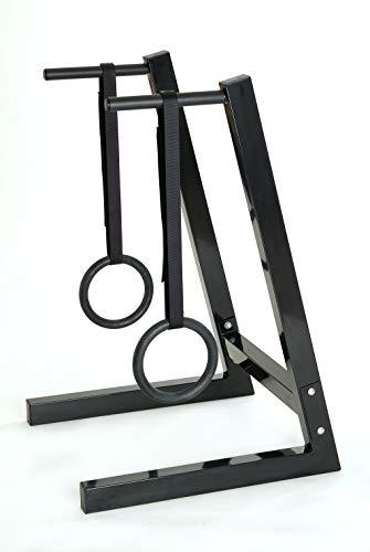 IROTEC(アイロテック)NEWディップ&ハンギングスタンド/コンパクト設計 ディップス 吊り輪トレーニング 筋トレ 自重トレーニング トレーニング器具