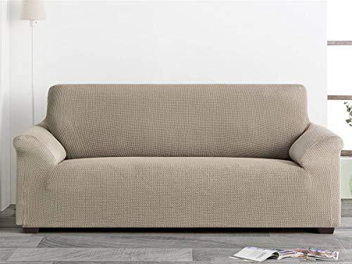 Belmarti Funda sofá Milan - PatternFit - 3 plazas - Color Azul Claro C24