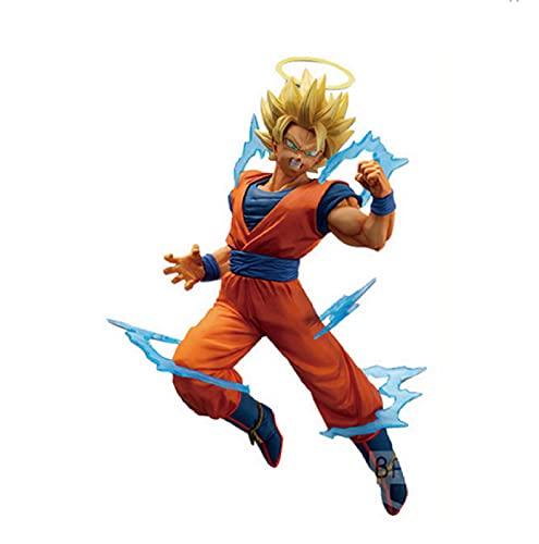 agzhu 15Cm Dragon Ball Anime Figura Super Saiyan Son Goku IV Acción PVC Colección Modelo Juguete Anime Figma Regalo