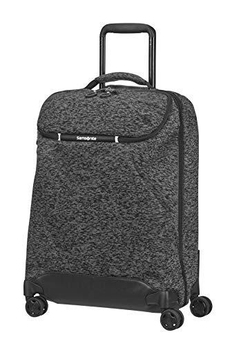 Samsonite Neoknit - Travel Duffle with 4 Wheels S, 55 cm, 36.5 Litre, Grey (Melange Grey)