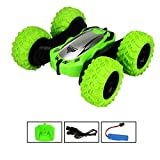 Modelo de coche de niño de rotación Rc Car One-click Deformación control remoto de coches de 360 ° Giros tirones eléctrico Mini Racing Vehículo de 2,4 GHz de doble cara Pequeño giratoria exclusiva d