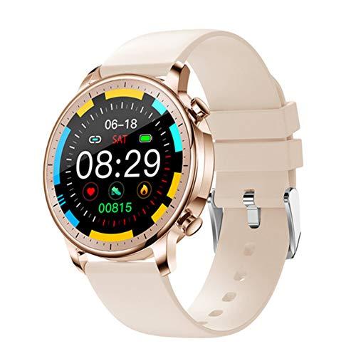 AEF Smartwatch Mujer, Reloj Inteligente Impermeable 67, Monitor de Sueño, 7 Modos de Deportes, Notificaciones Inteligentes, Reloj Deportivo Mujer para Android iOS,1