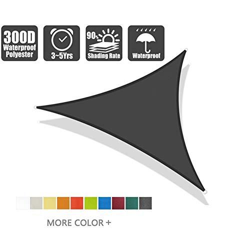 Shade Sails NEVY - waterdichte zon, tuin Patio Driehoek luifel luifel 95% UV-blok, zonnebrandcrème luifel (kleur: #8, Maat : 3x3x4.3)