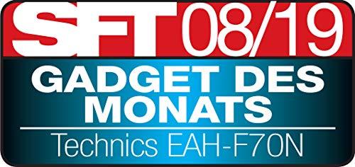 Technics EAH-F70N Noise Cancelling Bluetooth Premium Kopfhörer (High Resolution, Tragesensor, 20h Akku, Quick-Charge) silber