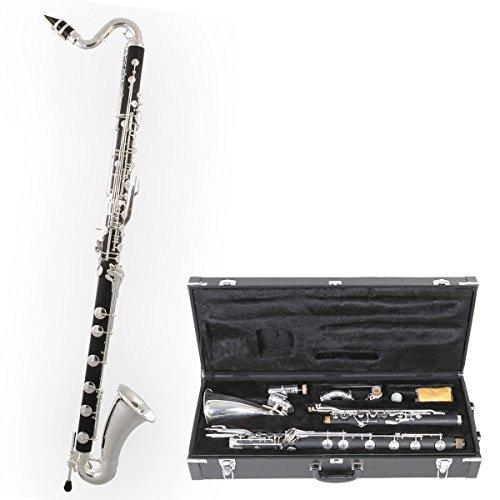 TBK-178 Bass Clarinet low C Tuyama® Boehm System Clarinete Bajo
