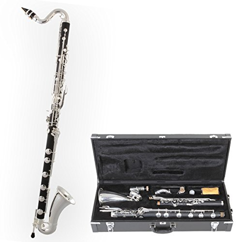 Tuyama® TBK-178 Clarinete Bajo (Sistema Boehm) - Baja hasta Do grave - low C Bass Clarinet
