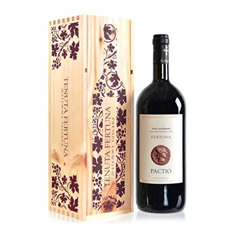 Tenuta Fertuna - Pactio Magnum, In cassa legno decorata.Mr. Vino rosso fermo