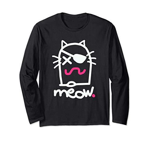 The MEOW. Brand Logo Manche Longue