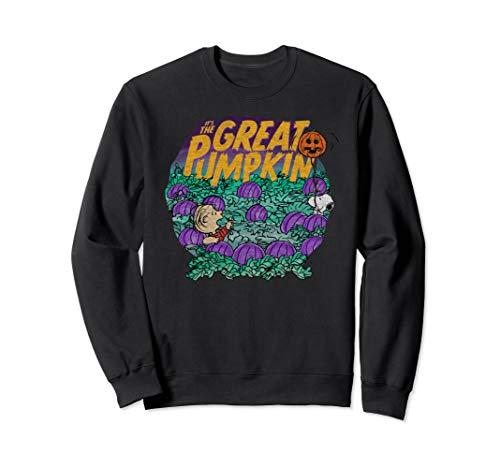 Peanuts Halloween Linus Snoopy Great Pumpkin Sweatshirt