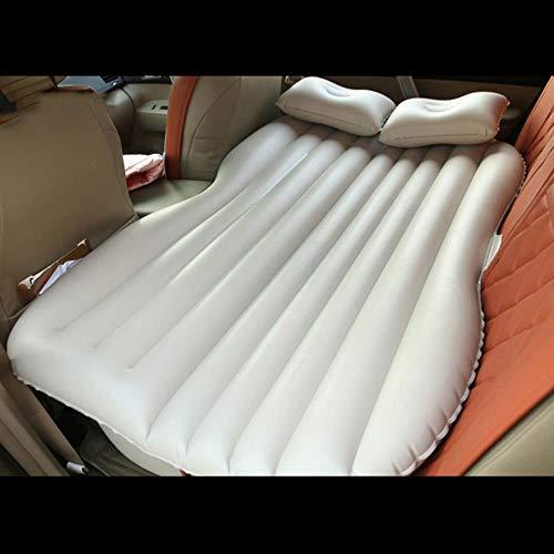 fish Auto Reisebett aufblasbare Matratze Auto Outdoor Camp für VW Amarok Caddy GOL Golf 2 3 4 5 6 7 mk2 mk3 mk4 mk5 mk6 mk7, weiß