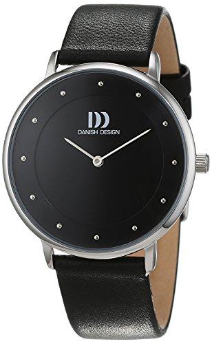 Danish Design dameshorloge analoog kwarts leer 3324558