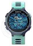 Bruni Schutzfolie kompatibel mit Garmin Forerunner 735XT Folie, glasklare Bildschirmschutzfolie (2X)