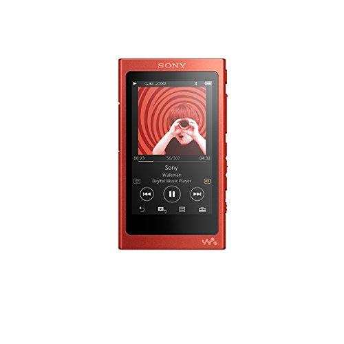 ソニー ウォークマン Aシリーズ 16GB NW-A35 : Bluetooth/microSD/ハイレゾ対応 シナバーレッド NW-A35 R