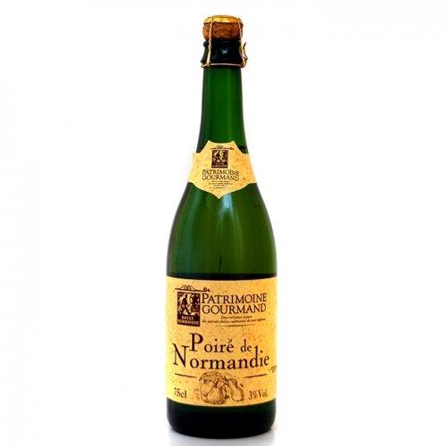 Patrimoine Gourmand, Poire de Normandie, Birnen Cidre, 3% Vol., 0,75l