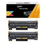 Dayhot CE278A 78A Cartucho de Tóner Compatible para HP Laserjet P1566 P1606DN P1560 P1500 P1604 P1608DN P1567 P1607DN P1600 P1609DN P1568 P1569 Laserjet Pro M1500 M1536dnf(2 Negro)