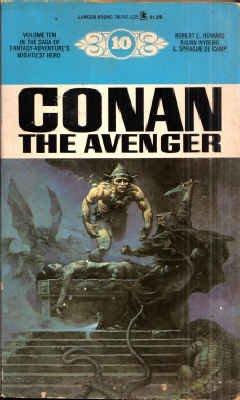Conan the Avenger (Lancer Conan, #10) 0447787470 Book Cover