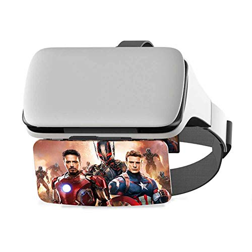 Great Deal! Headset VR Glasses,for 3D VR Movies Video Games/VR Headset Compatible with iPhone & Andr...