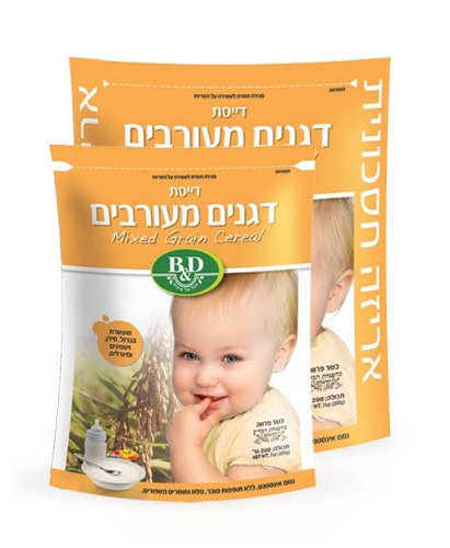 BD MIXED Genuine GRAINS BABY Opening large release sale 3 PACK CEREAL
