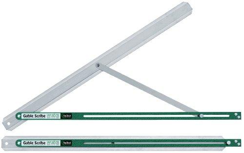 PacTool SA904 30 Inch Aluminum Gable Scribe, Easily Capture Gable Angles (0 – 90°),