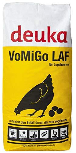deuka VOMIGO Legemehl 25 kg Alleinfutter gegen die Rote Vogelmilbe