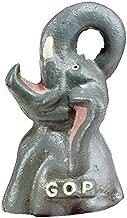 Abridor de garrafa de ferro fundido elefante de festa republicano GOP da Design Toscano, Unitário, Single, 1