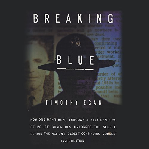 Breaking Blue audiobook cover art