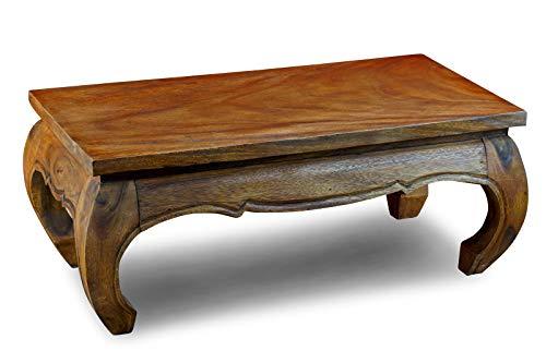 Kinaree 100x50cm Acacia massief hout salontafel/opiumtafel MONGKOL landhuis 50 x 100 cm Koloniaal