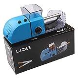 Máquina Para Liar Cigarrillos, Máquina Inyectora De Cigarrillos Eléctrica Portátil Con Tubo De 8 Mm De Diámetro, Máquina Para Liar Cigarrillos Eléctrica Para El Hogar, Máquina Para Liar Tabaco,Azul