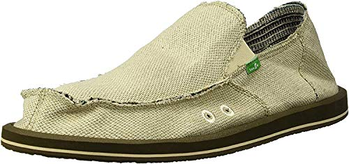 Sanuk Sidewalk Surfer Hemp Natural, Größe:46