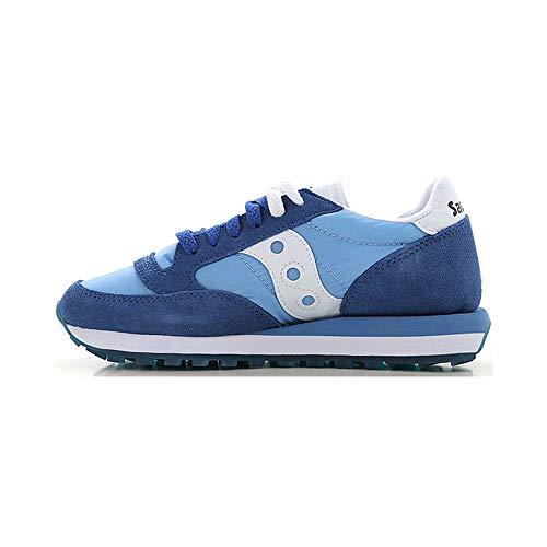 Saucony Originals Jazz Original Women, Sneaker Donna, Blu (Blu e Bianco 2.), 37 EU
