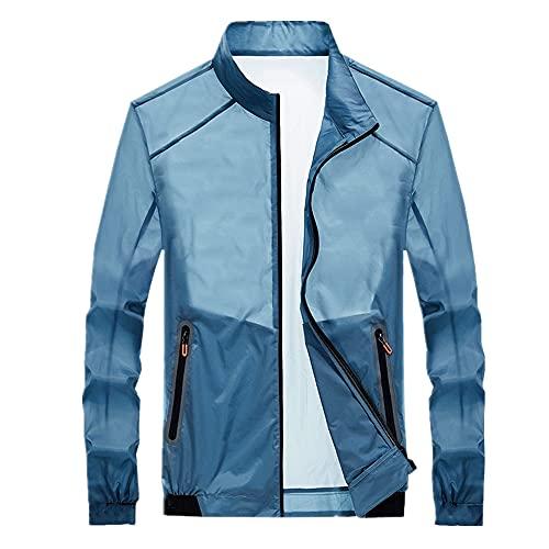 Ropa de piel de verano sección delgada transpirable ropa de pesca anti-ultravioleta