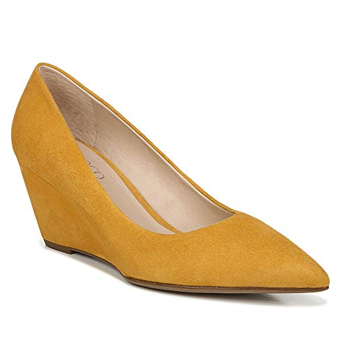 Franco Sarto womens Alicia Pump, Goldenrod, 8 US