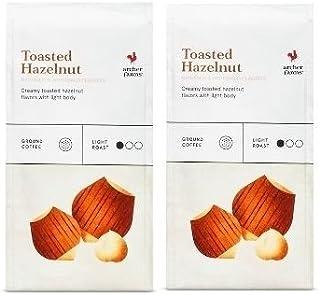 2 PKS ARCHER FARMS Toasted Hazelnut Ground Coffee-Light Roast-12 ozs Each
