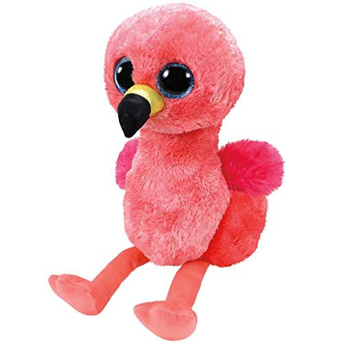 Ty Beanie Boo's Gilda, Flamenco, Color Rosa, 23 cm (United