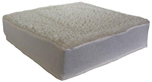 Adlatus-Kühnemuth Kissen zur Sitzerhöhung 10 cm hoch Sitzkissen Aufstehhilfe für Sessel Sofa Stuhl