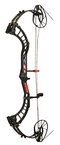 """PSE ARCHERY, Full Throttle Compound Bow, Black, Right Hand, 29"""" Draw, 70#"""