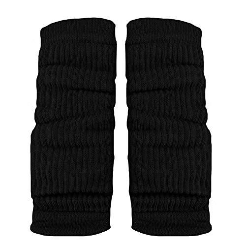 Toocool - Calentadores unisex modernos invernales para baile o aerobic, ref. LO-LW01 Negro Talla única