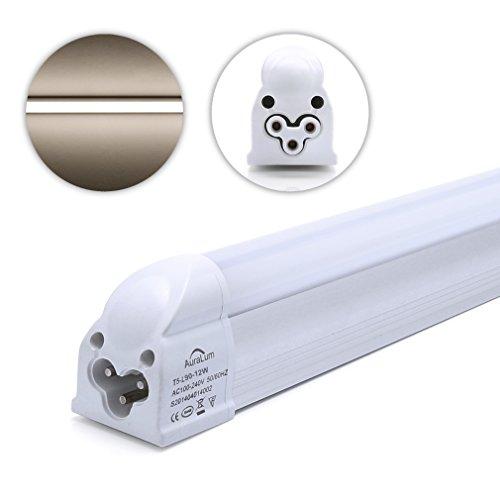 2er Auralum® 10 Jahren Garantie 90cm 12Watt T5 1100LM LED Röhre Leuchtstoffröhre Neutralweiß 4000~4500K SMD 3535*72LED