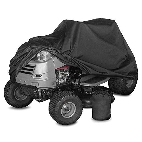 XZPENG Waterproof Cover for Riding Lawn Mower and Ride-On Garden Tractor - Heavy Duty Oxford Windproof with Elastic Drawstring Waterproof, Heat Insulation, Sunshade, Easy to FOL (Size : 1406691CM)