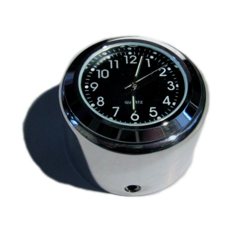 British Made Glatte Triumph Bonneville®, oder Thruxton Billet-Stiel Mutter Cover mit Uhr