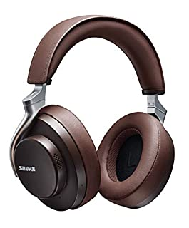 Shure AONIC 50 Wireless Noise Cancelling Headphones, Premium Studio-Quality Sound, Bluetooth 5 Wireless Technology, Comfort Fit Over Ear, 20 Hours Battery Life, Fingertip Controls - Brown (B084S1CYKF) | Amazon price tracker / tracking, Amazon price history charts, Amazon price watches, Amazon price drop alerts