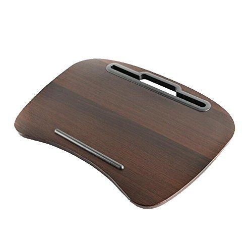 Hairong 16-inch multifunctionele Lazy Laptop tafel Kussens Kussen Mini Computer Bureau geplaatst op de Knie Lap Desk Mini-tablet Met Sponge Kussen, Gemakkelijk te gebruiken, Draagbaar en Handig 48 * 34 * 10cm