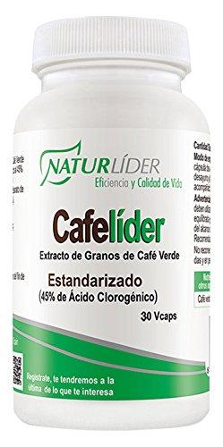Naturlíder Cafelíder Suplementos Vegetales para Control Metabólico - 30 Cápsulas